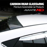 [MIK] Hyundai Avante MD - Carbon Rear Glass Wing Roof Spoiler