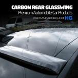 [MIK] Hyundai 5G Grandeur HG - Carbon Rear Glass Wing Roof Spoiler