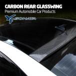 [MIK] Hyundai YF Sonata - Carbon Rear Glass Wing Roof Spoiler