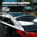 [MIK] KIA K5 - Carbon Rear Glass Wing Roof Spoiler