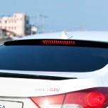 [SM KOREA] Hyundai Avante MD - LED Glass Wing Roof Spoiler (BLACK)