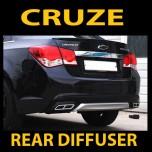 [MORRIS] Chevrolet Cruze - Rear Bumper Diffuer