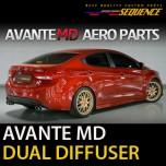[SEQUENCE] Hyundai Avante MD - Rear Diffuser Dual Type
