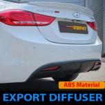 [SEQUENCE] Hyundai Avante MD - Rear Diffuser Set (Export Type)
