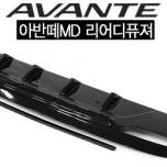 [HSM] Hyundai Avante MD - Rear Diffuser Set