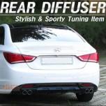 [SAMWON] Hyundai YF Sonata - Dual Type Rear Bumper Diffuser