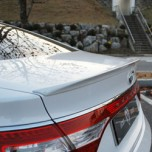 [M&S] Hyundai 5G Grandeur HG - Trunk Rear Lip Spoiler