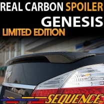 [SEQUENCE] Hyundai Genesis - SPEC-1 Real Carbon Rear Lip-Spoiler