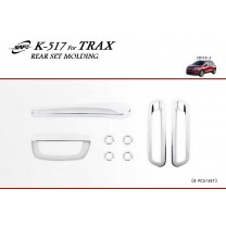 [KYOUNG DONG] Chevrolet Trax - Rear Chrome Molding Set (K-517)