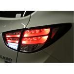 [AUTO LAMP] Hyundai Tucson iX  - BMW F10-Style Full LED Taillights  (CLEAR BLACK)