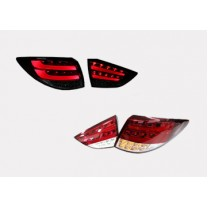 [AUTO LAMP] Hyundai Tucson iX  - BMW F10-Style Full LED Taillights (Red Type)