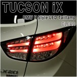 [AUTO LAMP] Hyundai Tucson iX - BMW F10-Style LED Taillights  (CLEAR TYPE)