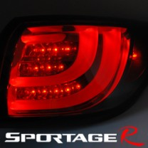 [AUTO LAMP] KIA Sportage R - BMW-Style LED Taillights Set (Black Edition)