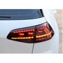 [AUTO LAMP] Volkswagen Polo  - Red Smoked R Ver. LED Taillights Set