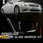 [GREENTECH] Infiniti G25 - LED Wide Glass and Heated Mirror Set